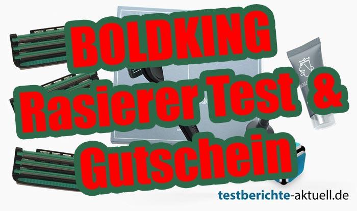 BOLDKING Rasierer Test